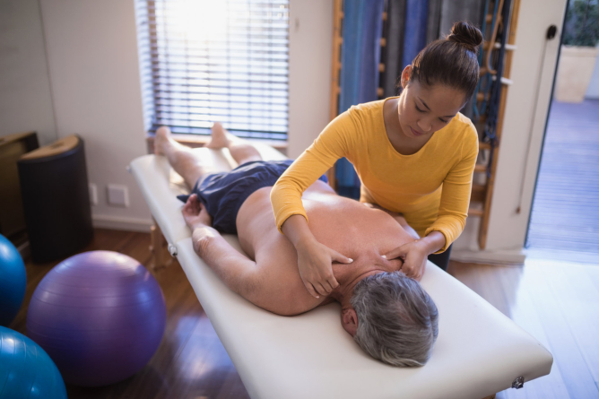 Getting Rid of Shoulder and Neck Pain
